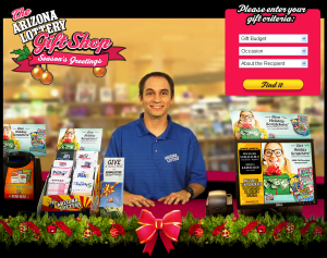 Kevin Herrmann - Arizona Lottery Gift Shop - Christmas 2012
