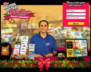 Kevin Herrmann - Arizona Lottery Gift Shop - Christmas 2012