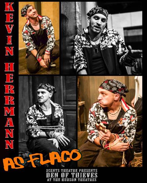 Kevin Herrmann as Flaco in Den of Thieves
